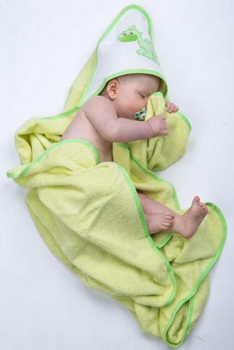 Froté ručník s kapucí 1R0010