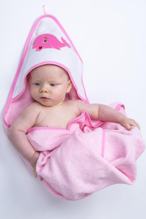 Froté ručník s kapucí 1R0003