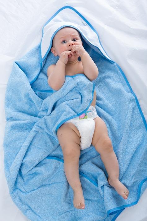Froté ručník s kapucí 1R0004