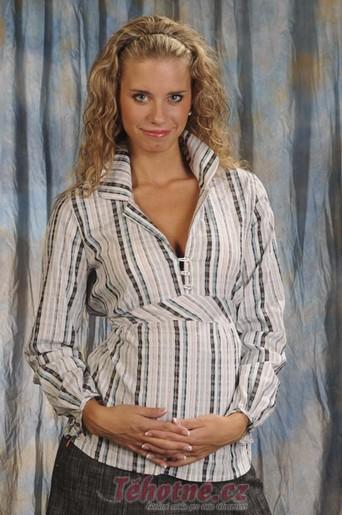 Těhotenská i KOJÍCÍ halenka