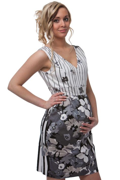 Těhotenské šaty 1S0316