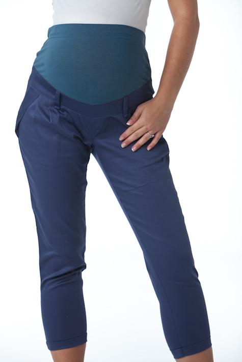 Těhotenské kalhoty osminy