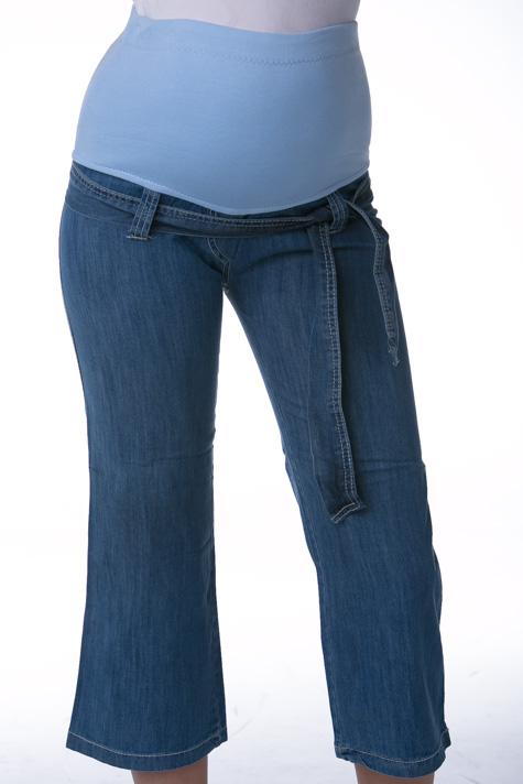 Těhotenské 3/4 kalhoty riflové 1S0258