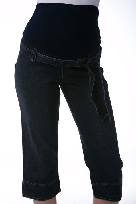 Těhotenské 3/4 kalhoty riflové 1S0268