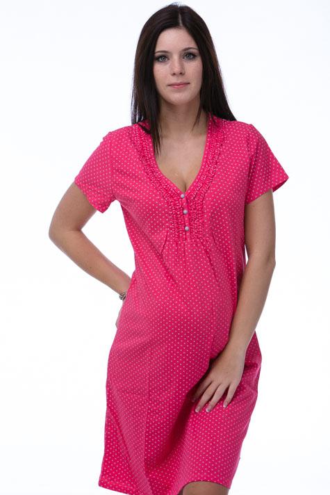 Noční košile kojící a těhotenská 1C1196