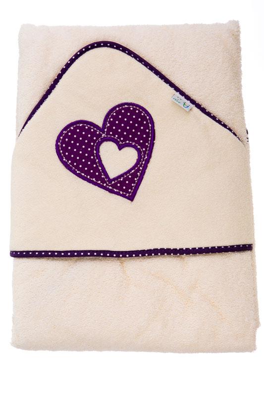 Froté ručník s kapucí