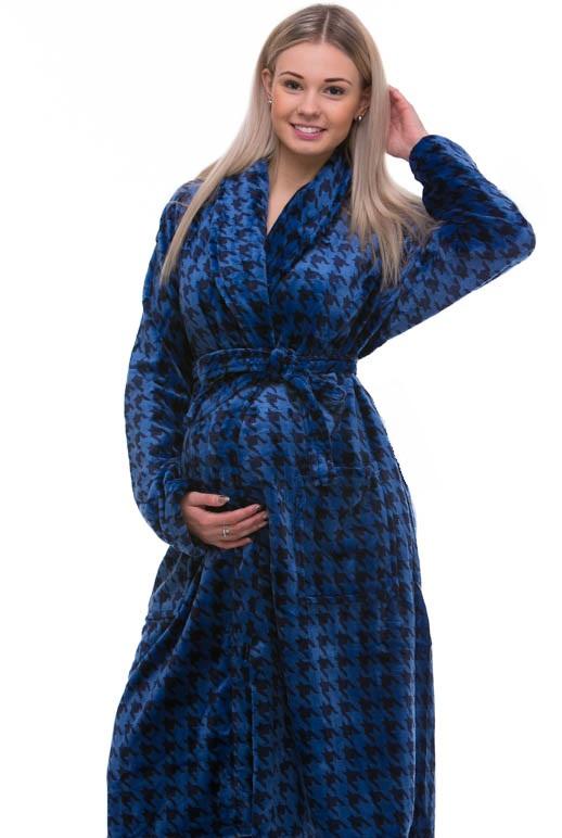 Župan do porodnice huňatý 1Z0622