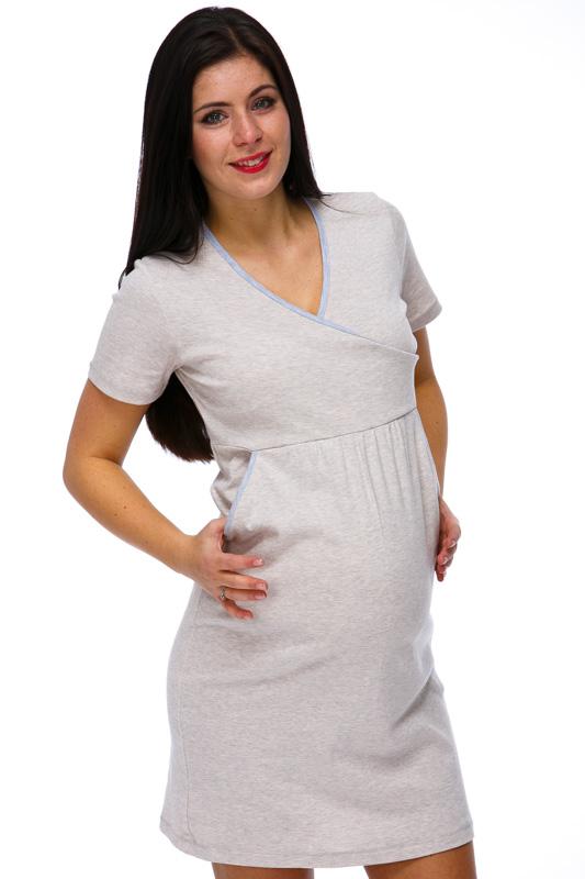 Těhotenská i kojící košilka 1C1133