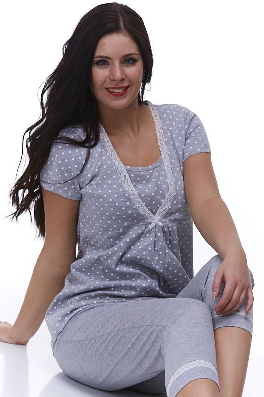 Těhotenské i kojicí pyžamo Daniela 1B0602