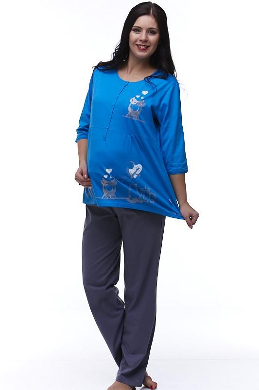 Kojící a těhotenské pyžamo Jamalka 1B0614