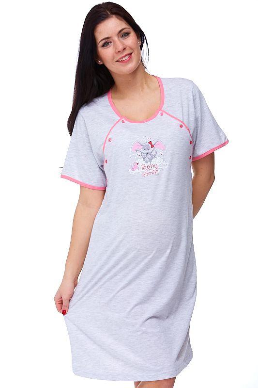Kojící a těhotenská košilka Albina 1C0042
