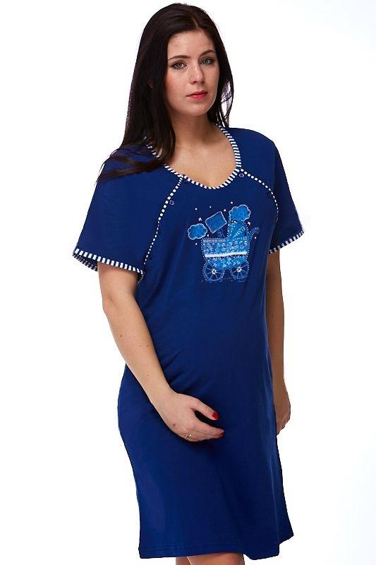 Kojící a těhotenská košilka Candelaria  1C0044