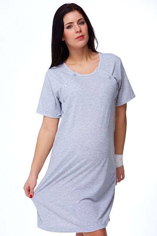 Kojící a těhotenská košilka Gisela  1C0079