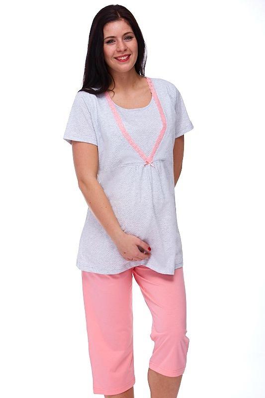 Mateřské pyžamo na kojení Esstela 1B0637