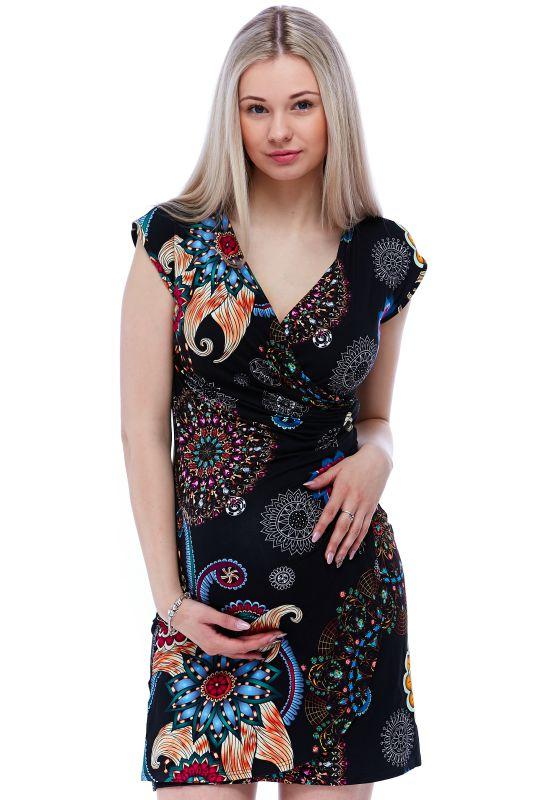 Těhotenské a kojící šaty 1S1142