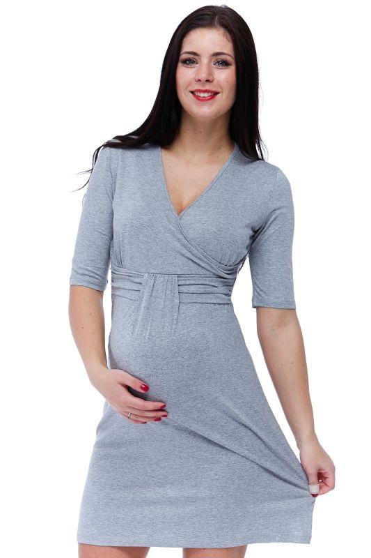 Těhotenské a kojící šaty 1S1157