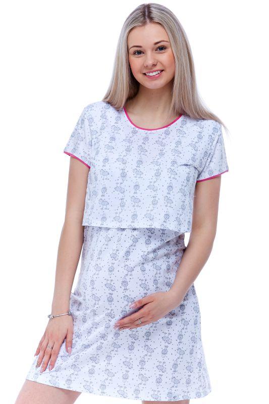 Těhotenská košilka diskrétní kojení 1C1178