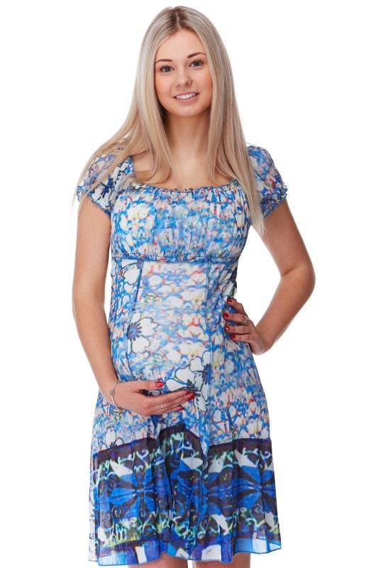 Těhotenské a kojící šaty 1S1160