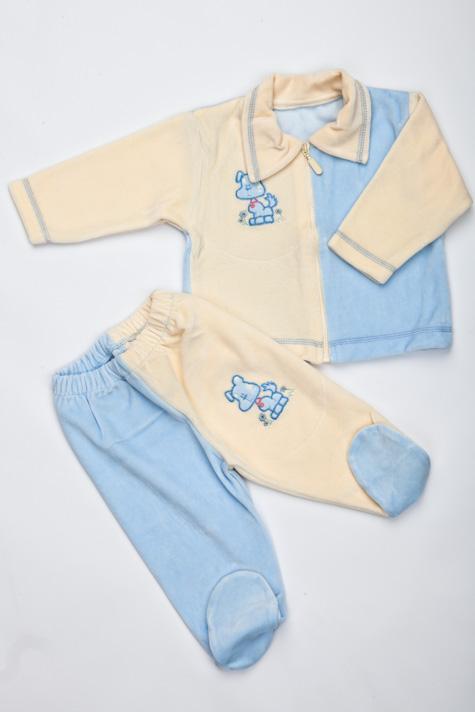 Souprava pro kojence sametová